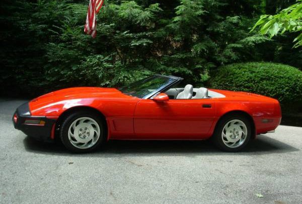 1996 Corvette Convertible