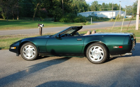 1995 Green Convertible