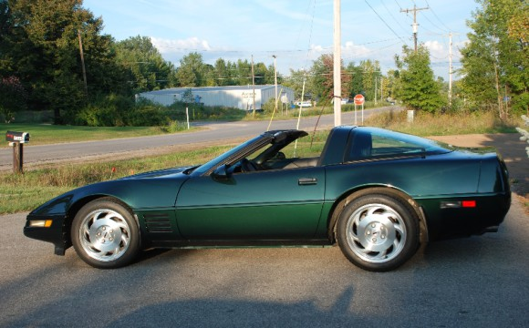 1994 Green Coupe