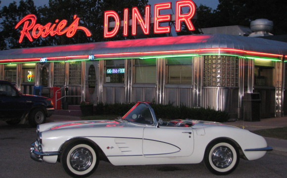 1960 White Convertible